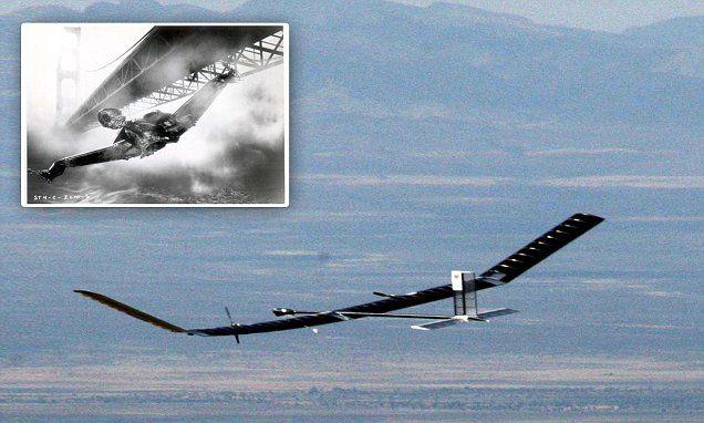 Drone that looks like a Star Trek spaceship! #DailyMail