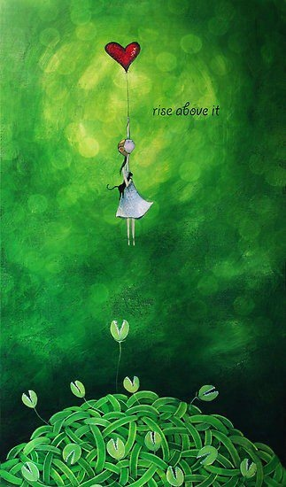 Rise above... Joy does not simply happen to us.   We have to choose joy and keep choosing it every day.   ~ Henri Nouwen