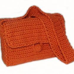 Easy basic crochet bag/purse pattern