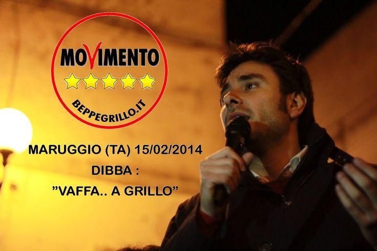 """M5S SCOOP ..DI BATTISTA """"VAFFA... A GRILLO"""""""