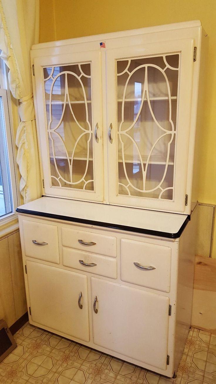 Wonderful Keystone Cabinet Company Hoosier Kitchen Cabinet | EBay