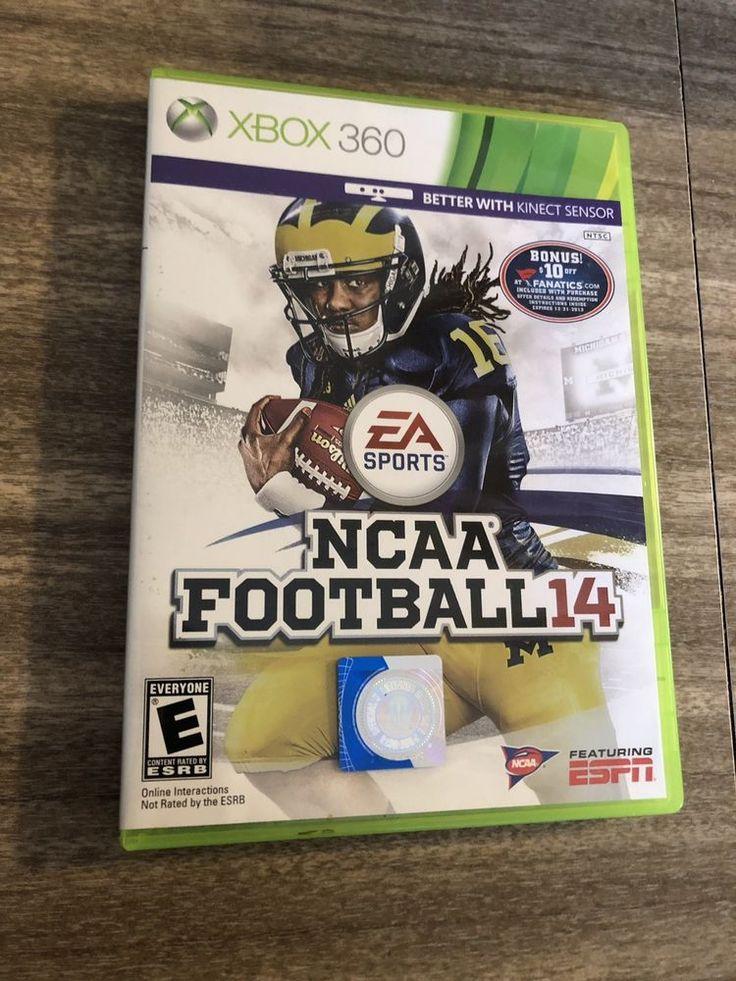 NCAA Football 14 CiB Complete Last Year Made(Microsoft