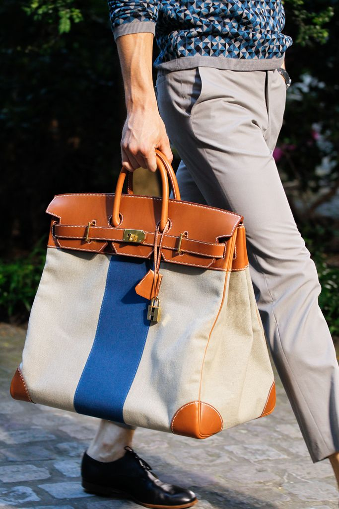 Finally a mens Birkin   Hermès Spring 2013 Menswear Collection Slideshow on Style.com • http://blogmodehomme.wordpress.com