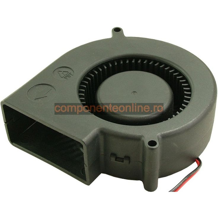 Ventilator turbina, 75x75x30mm, 12V, 0,18A - 118388
