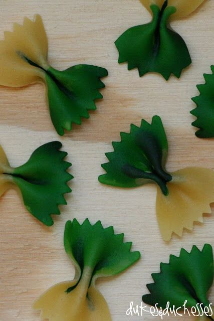 DIY colored pasta for St. Patrick's Day {or any holiday}