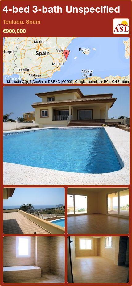4-bed 3-bath Unspecified in Teulada, Spain ►€900,000 #PropertyForSaleInSpain