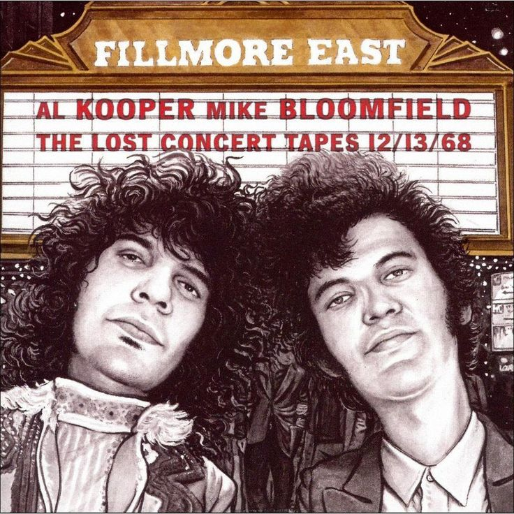 Al Kooper/Mike Bloomfield - Fillmore East: The Lost Concert Tapes 12/13/68 (CD)