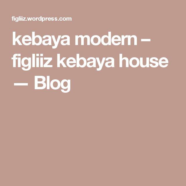 kebaya modern – figliiz kebaya house — Blog