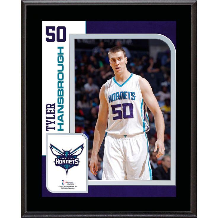 "Tyler Hansbrough Charlotte Hornets Fanatics Authentic 10.5"" x 13"" Sublimated Player Plaque - $29.99"