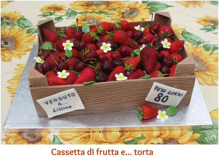 """Torta """"Cassetta di frutta"""""""