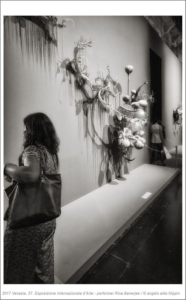2017 Venezia, 57. Esposizione Internazionale d'Arte - performer Rina Banerjee