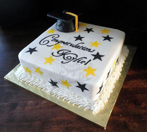 Graduation+Sheet+Cakes | College Graduation Sheet Cake Graduation cake for a