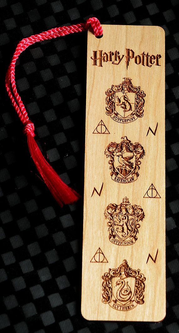 Harry Potter Style Personalized Bookmark Harry by FinePenArt
