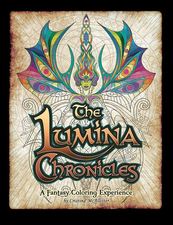 The Lumina Chronicles Digital Edition 30 Coloring Pages Story