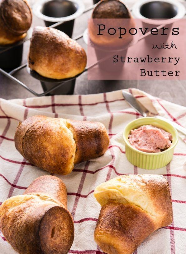 Nutella Cheesecake Popovers Recipe — Dishmaps