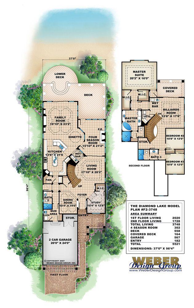 01db335d77ecf38832fb61e6b491c1d6 diamond lake lake house plans 59 best narrow lot house plans images on pinterest,Weber House Plans