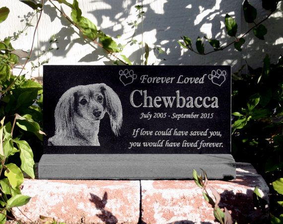 Outdoor Memorials For Dogs Pet Grave Marker Or Plaque