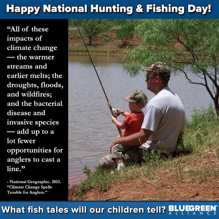 Happy National Hunting And Fishing Day: 17+ Best Images About FISHING & WATER PRESERVATION On