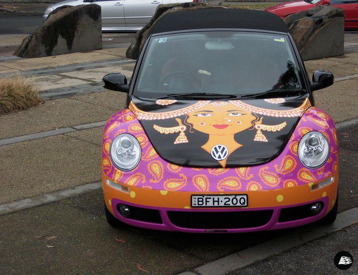 Ritzenhoff VW Beetle #themeddesign #springracing #designer #ritzenhoff #melbourne #Volkswagen #vehiclewrap