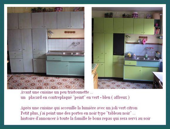 60 best images about d co relooker sa cuisine sans bcp de - Repeindre sa cuisine avant apres ...