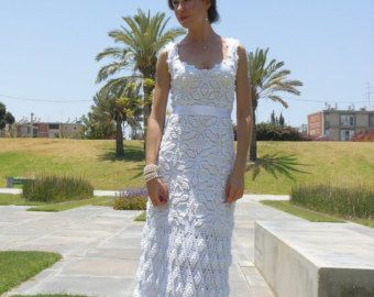 Crochet Wedding Dress Train by ChiKDesigns on Etsy