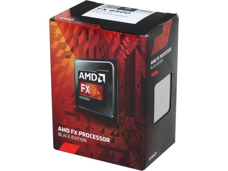 AMD FX-6300 Vishera 6-Core 3.5GHz (4.1GHz Turbo) Socket AM3+ 95W Desktop Processor FD6300WMHKBOX - Newegg.com
