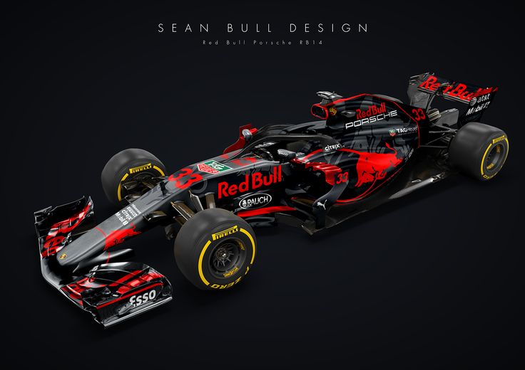 Porsche And Red Bull Racing F1 Car Is Oh-So Tempting
