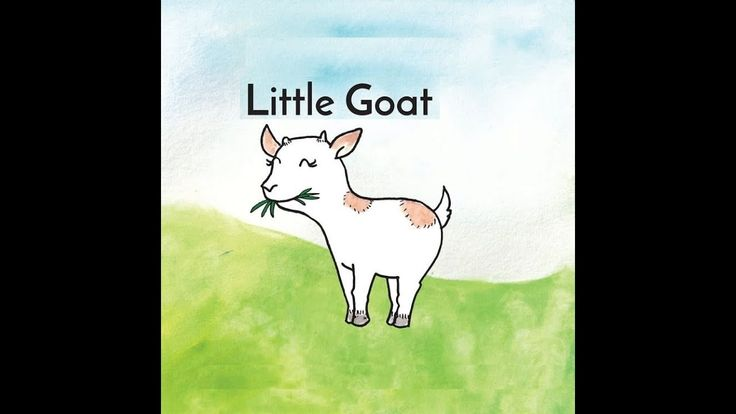 Little Goat - Short Bedtime Story For Children / Learn English