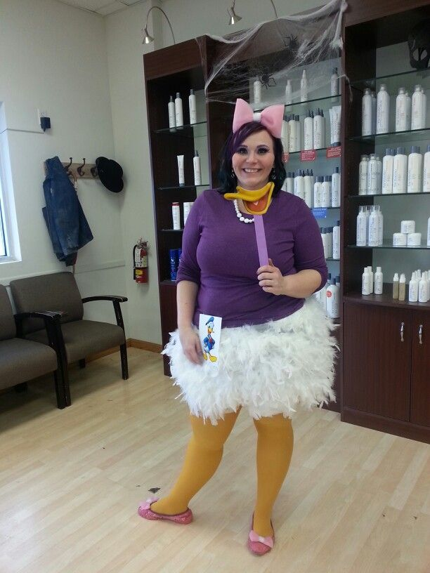 adult daisy duck halloween costume