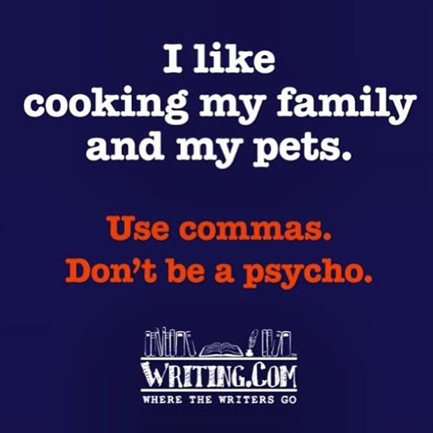 A single comma can change everything!