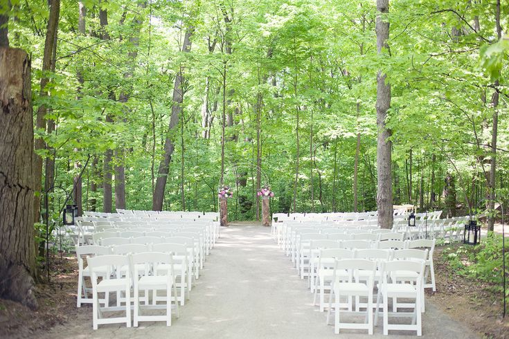 May 19, 2013 - Cathedral of Trees ceremony site