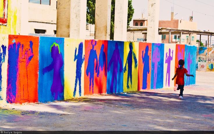 The Color Wheel Project At Jerash Refugee Camp