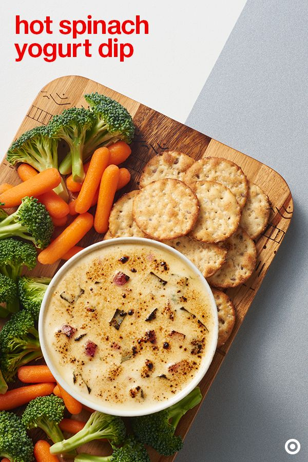 Dig dip? Try this hot spinach and yogurt dip recipe at your holiday ...