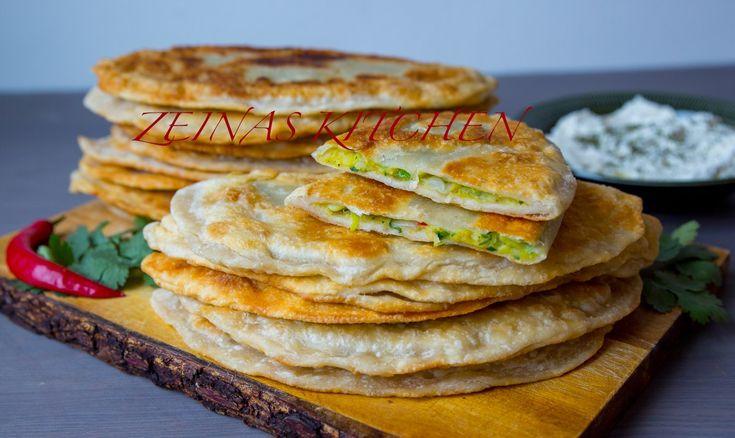 Bolani- Afghanskt fyllt bröd