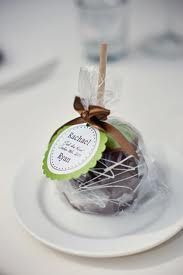 Love these candy apple favors!