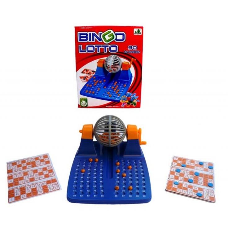 Bingo familiar en color azul.  http://www.cosaspararegalar.es/ideas-para-regalar/juegos-de-mesa/bingo-loto-azul.html