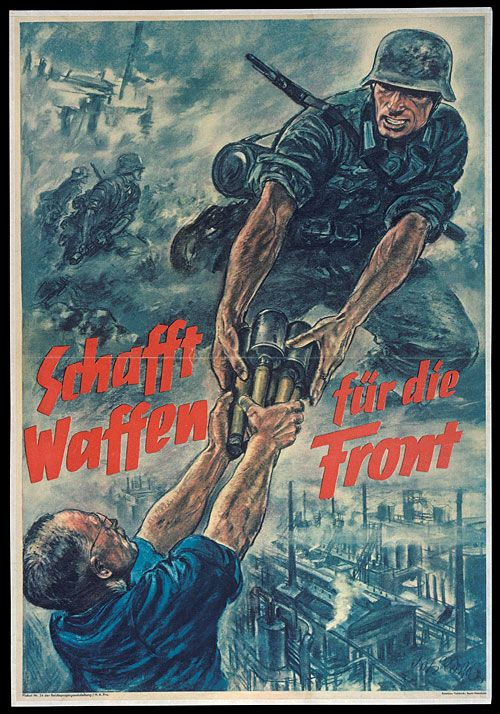 an analysis of the nazi propaganda during the world war two National archives / wikipedia within the last few years, the world war ii british propaganda poster keep calm and carry on has become ubiquitous around the world.