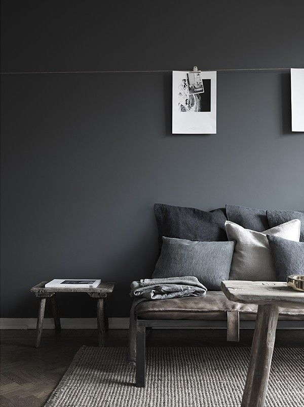 IT'S ALL ABOUT GREY: GUNMETAL IS THE NEW COPPER - Pinterest 100 for 2016 - via We Are Scout But look at this floor!
