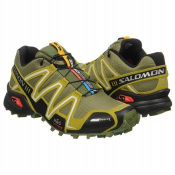 mens salomon speed cross 3 green