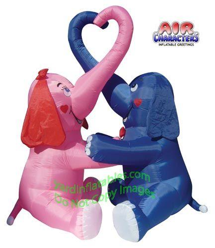 Elephants valentines and heart on pinterest