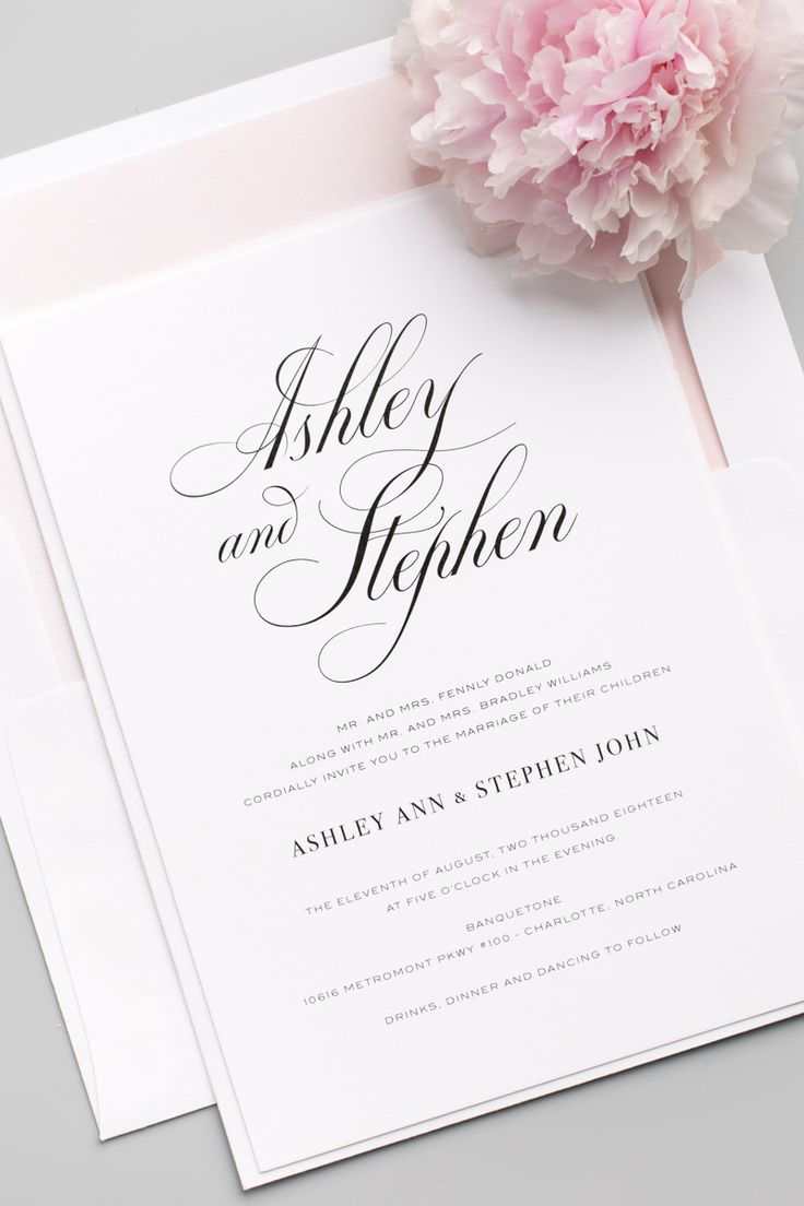 195 Best Wedding Invitations Images On Pinterest Invitations