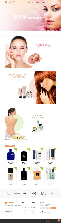 Ri Quartz - Responsive Multipurpose WooCommerce Theme Demo #Cosmetics #perfume #shop #website
