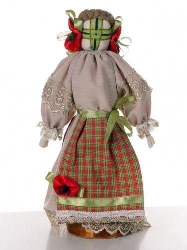 #Ukraine #Folk #Dolls #Coloured in #green and #red http://nuwzz.com/product/ukraine-folk-doll-2/