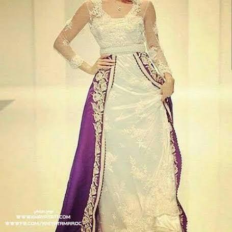 excellente robe de luxe, caftan de mariage style moderne à faire sur mesure à un prix convenable. Commandez ce caftan marocain 2016 en nous contactant sur notre boutique en ligne