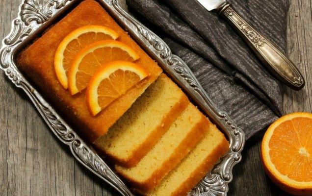 Κέικ πορτοκαλιού με γιαούρτι