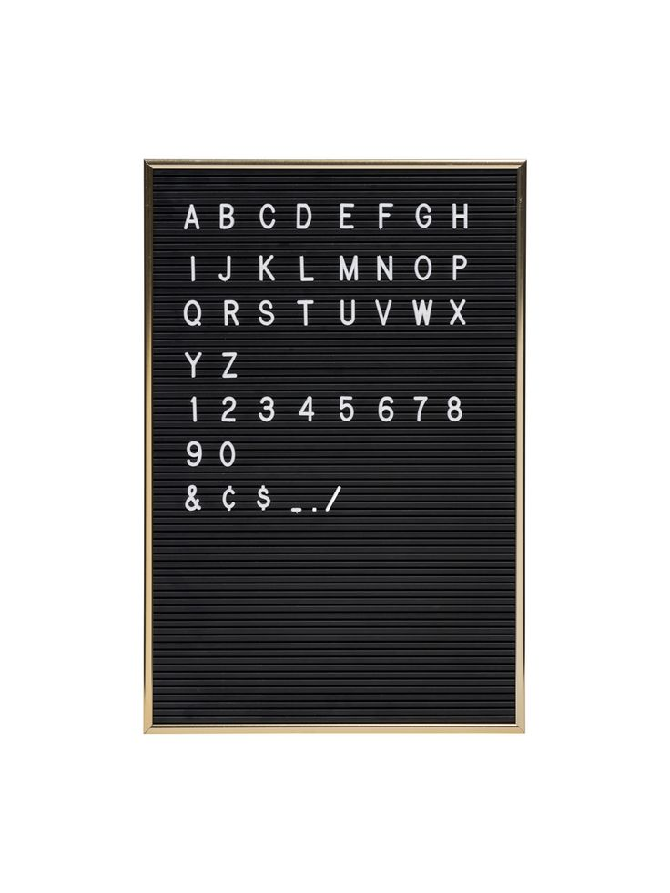 Think of all the thing you can write! Love this fun message board for any room or man cave :)