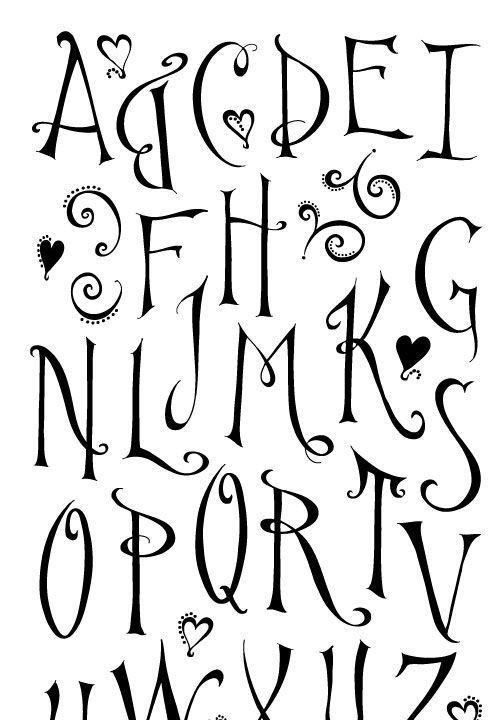 Tumblr Tipos De Letras Bonitas Wwwimagenesmycom
