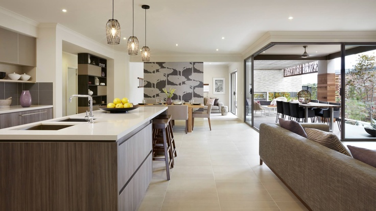 Ascot kitchen, dining, alfresco