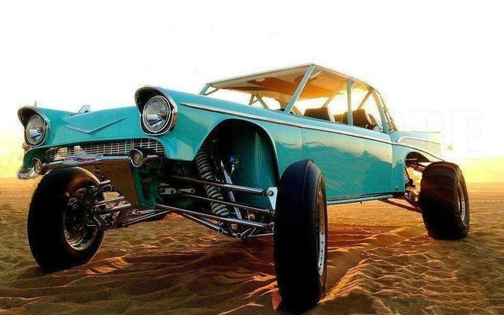 57 Chevrolet Bel Air Dune buggy