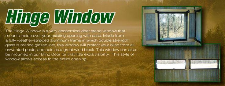 DeerView Windows, Deer Stand Windows, Deer Blind Windows, Hunting Windows
